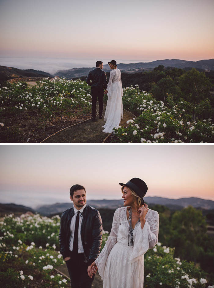 Boho Couple at Stonewall Ranch, Malibu