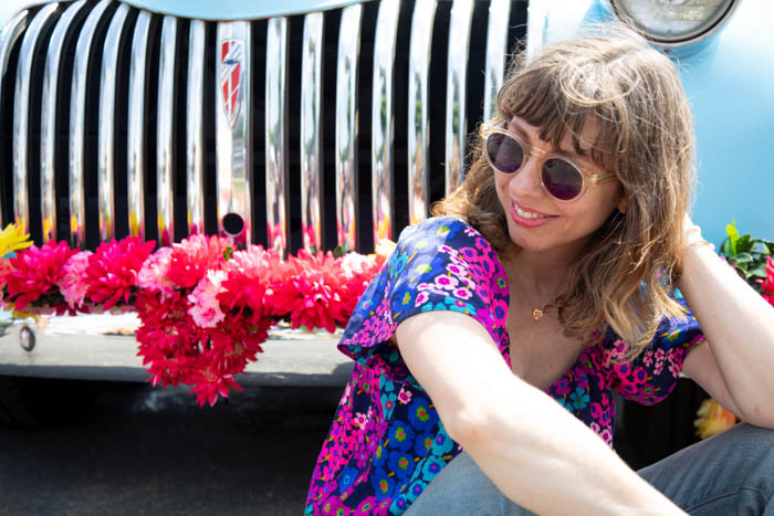 Tabitha Abercrombie of Winston & Main + the Don Julio Tequila truck.