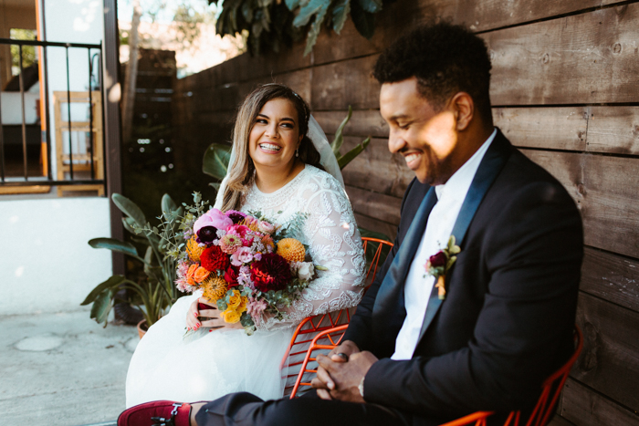 A beautiful elopement planned by Opus Events Co. with photography by The Hendrys and flowers by Winston & Main.